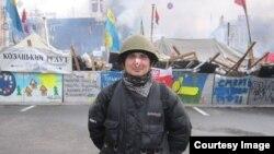 Сергей во время Евромайдана