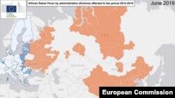 Разпространение на Африканската чума по свинете