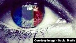 Ілюстрація з соціальних мереж на підтримку народу Франції через теракти 14 листопада
