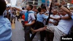 Беспорядки в Гонконге 3 октября