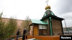 Православный храм в мужской колонии под Красноярском