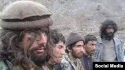 Меркаваныя ваяўнікі ІД, схопленыя талібамі ў Нангархары.