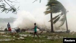 Pamje nga cikloni në Vanuatu