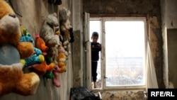 Yerevanda kasıb uşaqlar