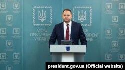 Головаофісу президента Андрій Єрмак