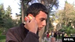 Arxiv şəkil, gənc flahsmobçulardan biri, Bakı 14 noyabr 2010