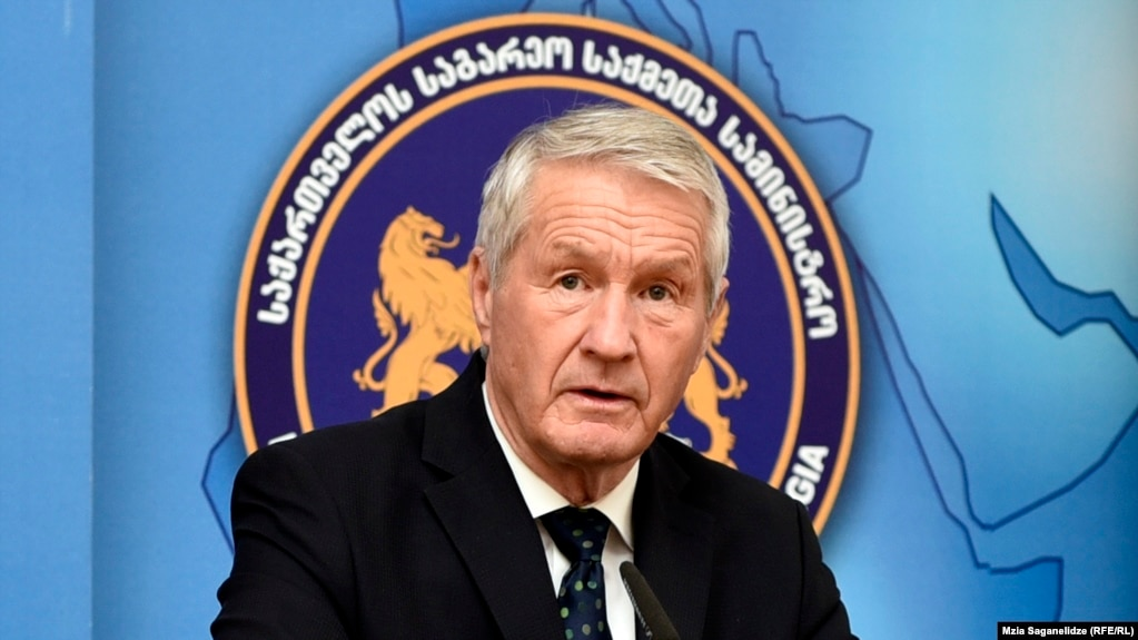 Thorbjorn Jagland, secretary-general of the Council of Europe (file photo)