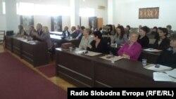 Советување за антибиотици во Охрид.