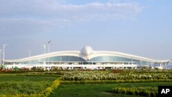 Türkmenistanyň täze aeroporty (Illýustrasiýa suraty)