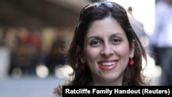 British-Iranian citizen Nazanin Zaghari-Ratcliffe (file photo)