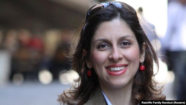 Iranian-British aid worker Nazanin Zaghari-Ratcliffe, undated