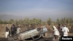 Pamje nga një incident i mëparshëm në provincën Parvan në Afganistan