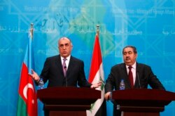 Elmar Mammadyarov's statement during the joint press-conference in Bagdad