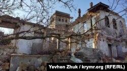 Разрушенная усадьба Фердинанда Матвеевича Шлее