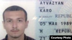 Armenia -- A passport photograph of Karo Ayvazian, a soldier who allegedly killed himself and five other servicemen on 28July 2010. (Photo courtesy of Hetq.am.)