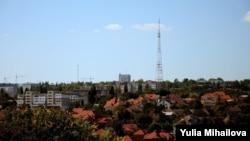 Vedere spre cartierul Valea Morilor, Chişinău