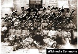 Azərbaycan ordusunun orkestri - 1918