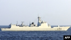 The Chinese navy's DDG-171 Haikou destroyer (file photo)