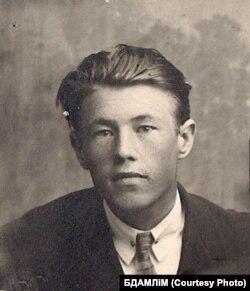 Пятро Глебка. 1929 г. (З фондаў БДАМЛМ)