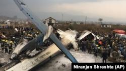 Місце падіння літака в Катманду, Непал, 12 березня 2018 року
