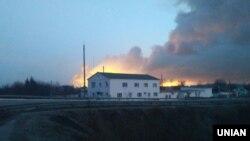 Пожежа і вибухи на складах боєприпасів у Балаклії Харківської області України, 23 березня 2017 року
