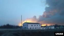 Пожар и взрывы на складах боеприпасов в Балаклее Харьковской области Украины, 23 марта 2017 года