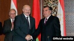 Прэзыдэнты Лукашэнка і Рахмон