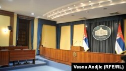 Sala za konferencije Vlade Srbije, ilustrativna fotografija