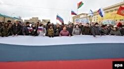 Прихильники Росії у Харкові, 16 березня