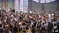Антивладини протести во Сирија