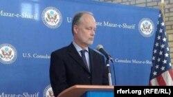 په افغانستان کې د امریکا سفیر جېمز کننګهم