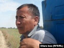 Диқан Ғалымжан Күлішев. Алғабас ауылы, Оңтүстік Қазақстан облысы. 17 қыркүйек, 2015 жыл.