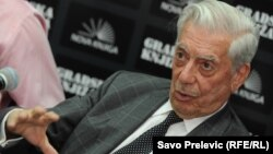 Mario Vargas Ljosa u Podgorici