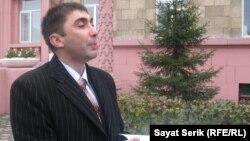 Вадим Курамшин, құқық қорғаушы. Қарағанды, 28 қыркүйек 2010 жыл