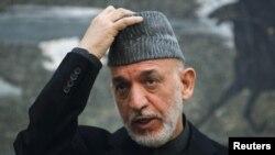 Presidenti Afganistanit Hamid Karzai