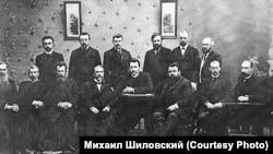 Группа профессоров Томского технологического института. Начало ХХ века
