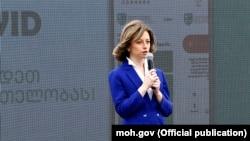 Министр здравоохранения Грузии Екатерина Тикарадзе