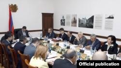 Կառավարության արտագնի նիստը Իջեւանում: 30-ը սեպտեմբերի, 2010 թ.