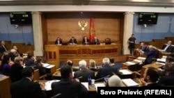 Skupština tokom rasprave o spornom zakonu