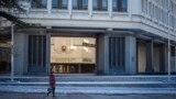 Здание российского парламента Крыма