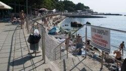 Борьба за пляжи в Крыму | Крымский вечер