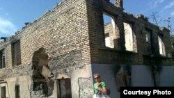 Развалины дома в Цхинвали. Фото 26 августа 2009