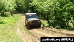 Astara kənd yolu