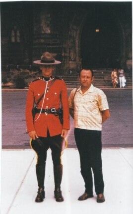Владимир Меднис в Канаде. Фото 1970-х лет