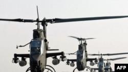 Хеликоптери Кобра на воени маневри во Јужна Кореа