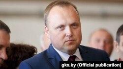 Аляксандар Церахаў, міністар ЖКГ, архіўнае фота