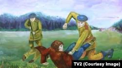 Napad snaga NKVD-a na Banderitese