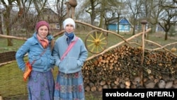 Наталька Буглак і Алеся Каржова, Малое Запрудзьдзе