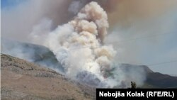 Požar kod Trebinja