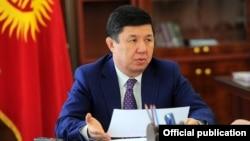 Prime Minister of Kyrgyzstan Temir Sariev.